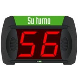 "Kit ""su turno"" pantalla + mando a distancia + expendedor tickets + 1 rollo gratis"