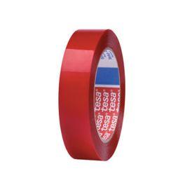 Rollo cinta doble cara tesa 4965 25mm x 50 m rojo translúcido